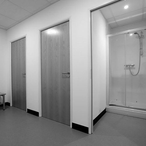 Shower and Changing Rooms