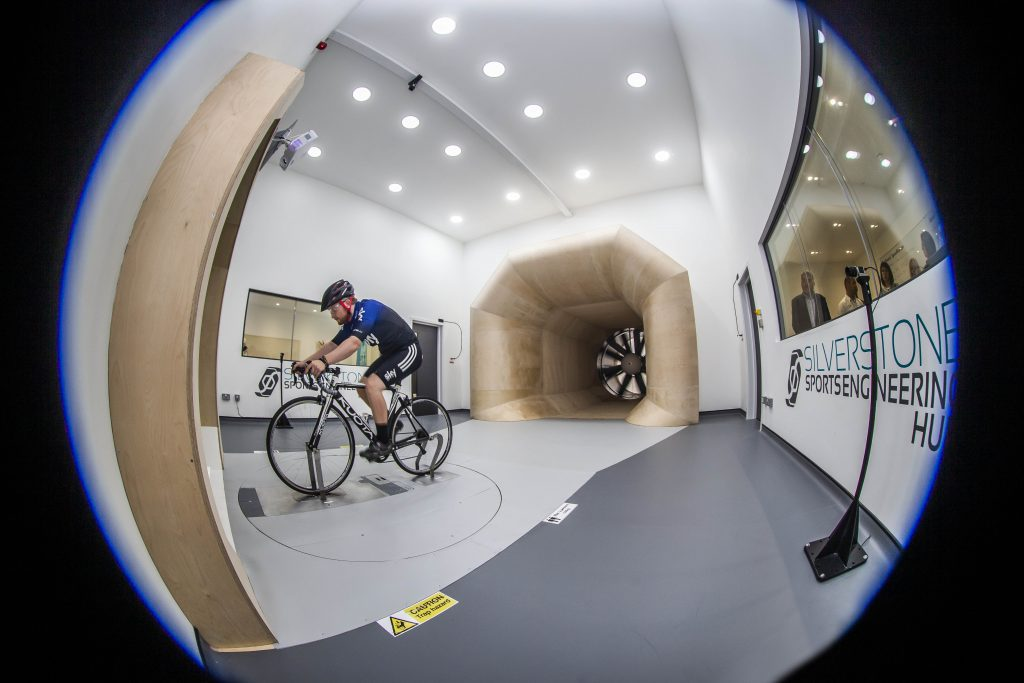 The Sports Performance Wind Tunnel at Silverstone Sports Engineering Hub
