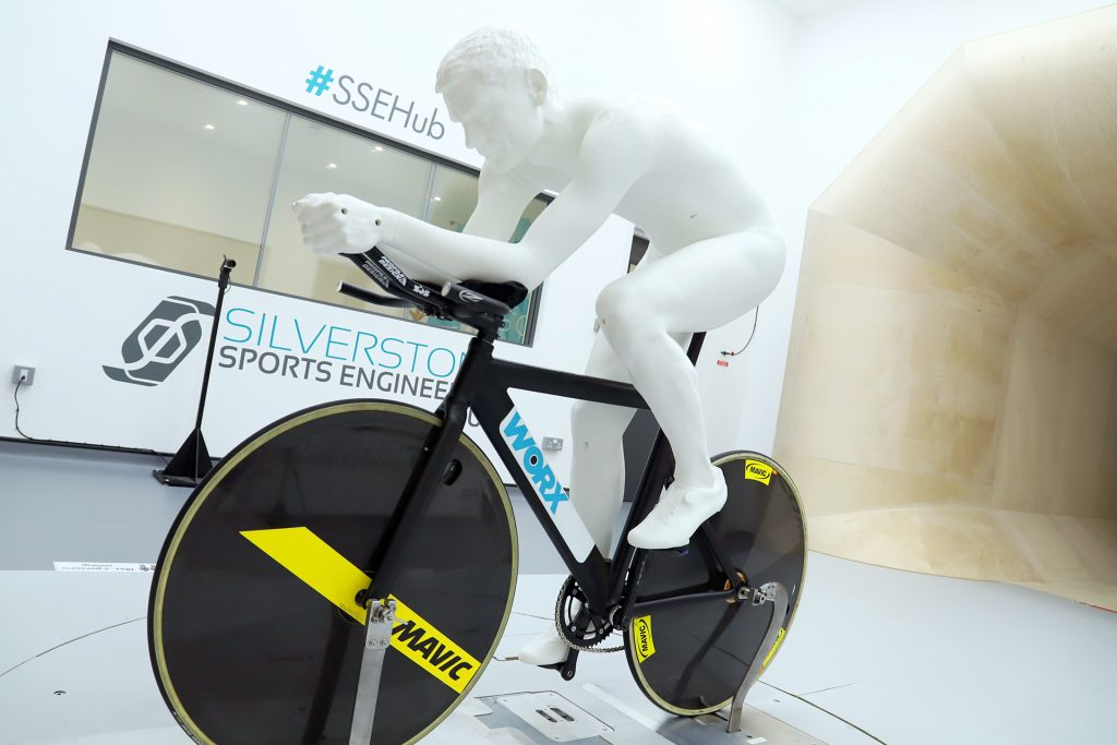 3D mannequin testing in the Sports Performance Wind Tunnel